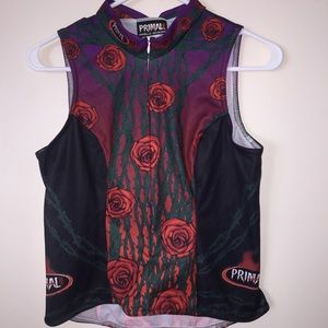 Primal Cycling Jersey Vest 🌹 Size Small